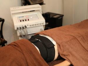 EMS腹筋トレーニング
